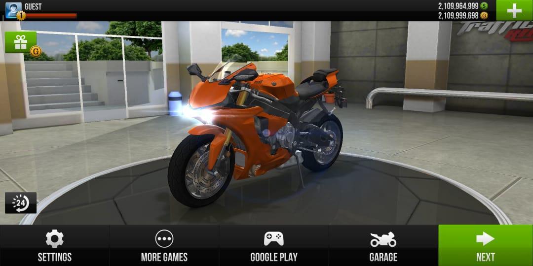 traffic rider gameplay