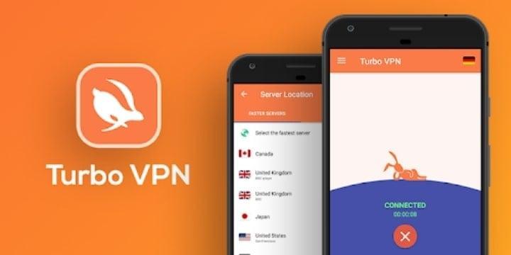 Turbo VPN Mod Apk v3.6.3.1 (Premium Unlocked)