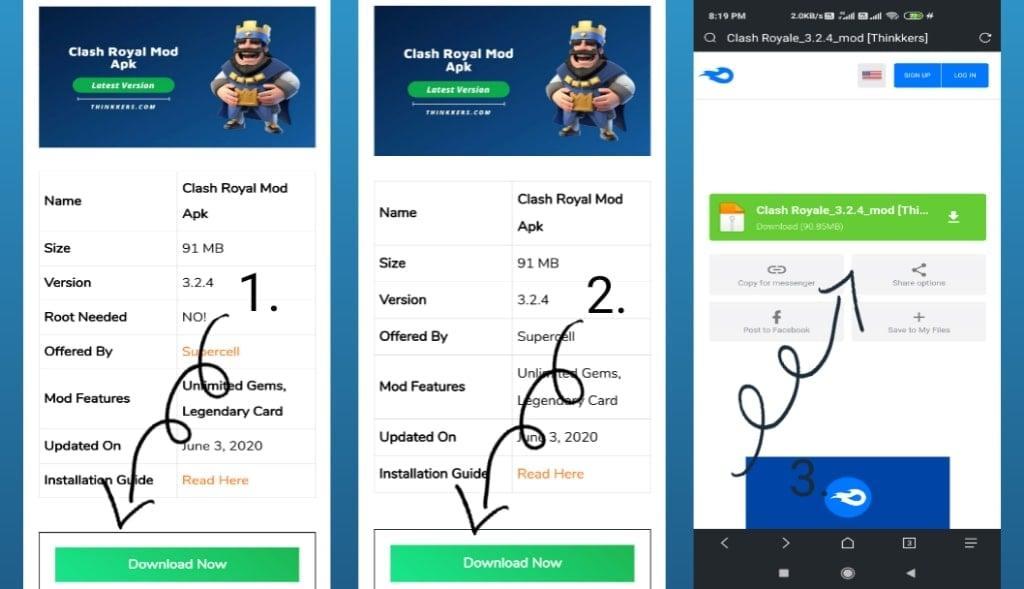 Clash Royale Mod Apk Download
