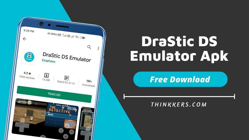DraStic DS Apk Emulator