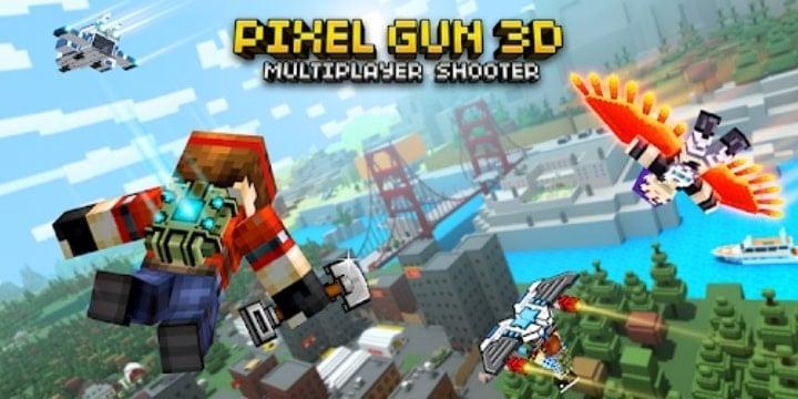 Pixel Gun 3D Apk + MOD v21.7.2 (Unlimited Ammo)