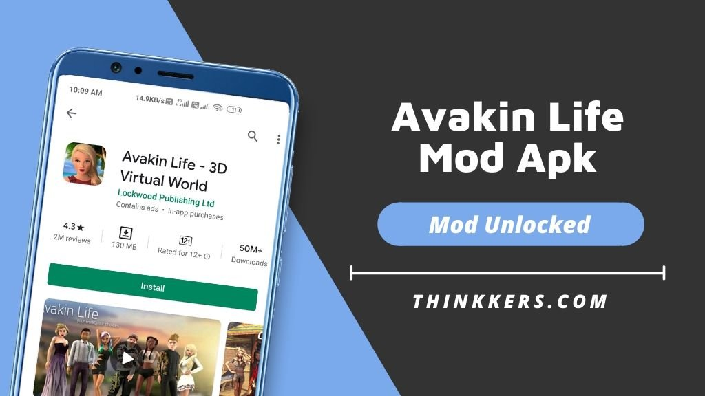 avakin life mod apk download
