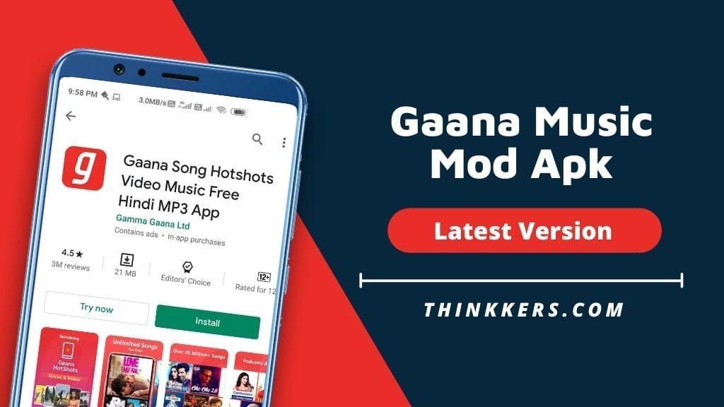 Gaana Music Mod Apk - Copy