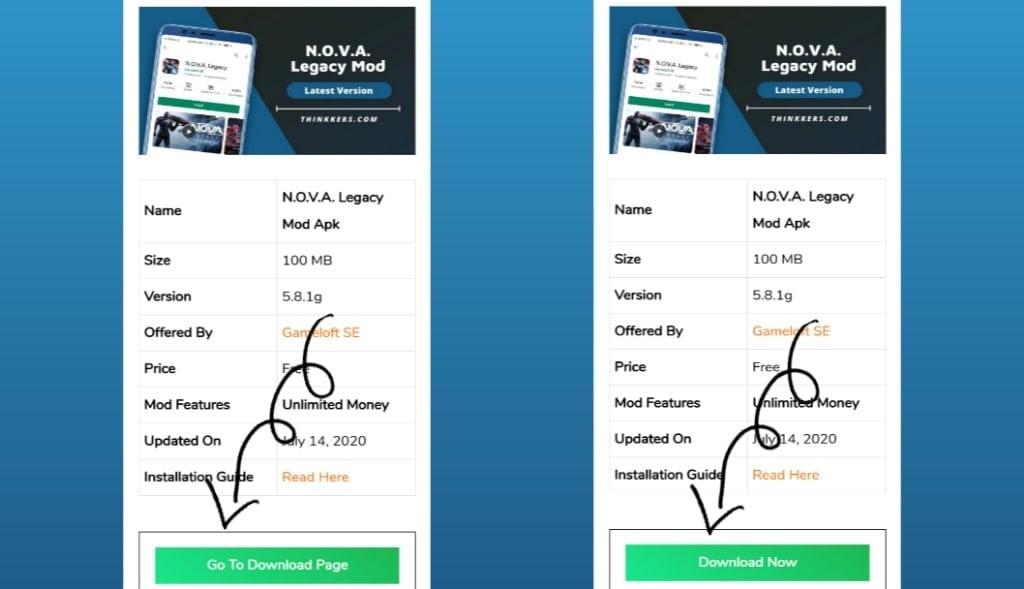 Download NOVA Legacy Mod Apk