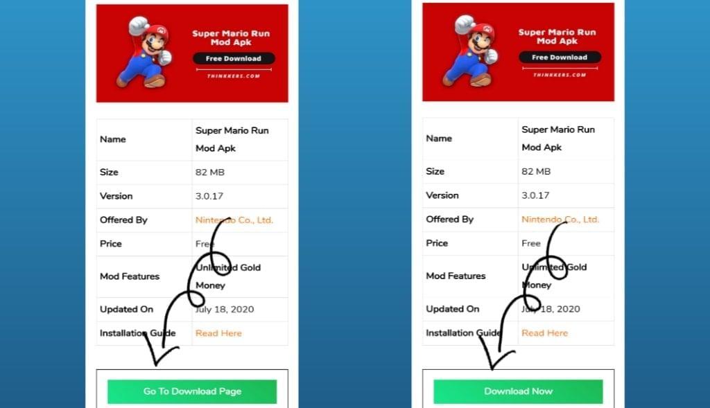 Super Mario Run Mod Apk Download