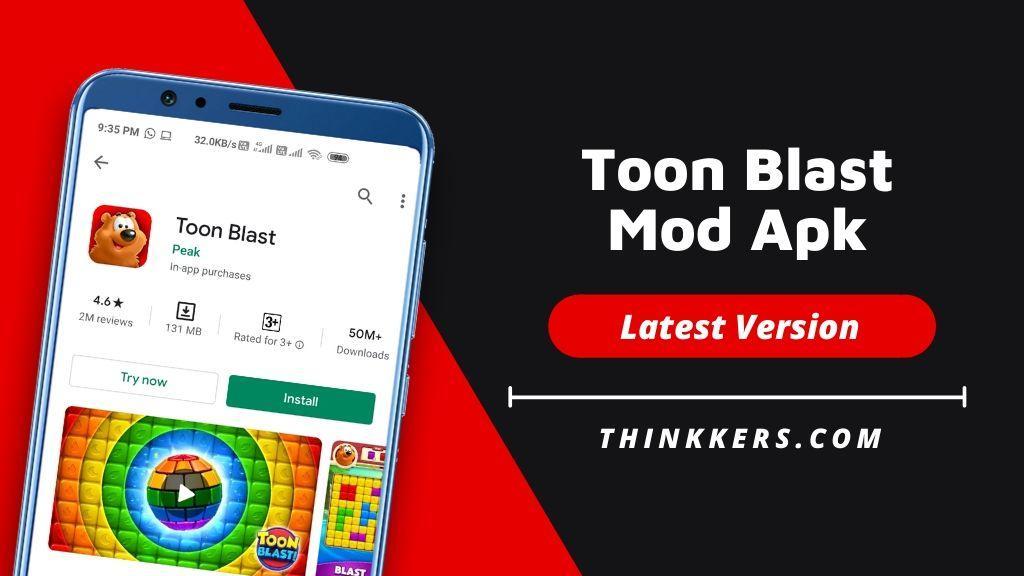 Toon Blast Mod Apk - Copy