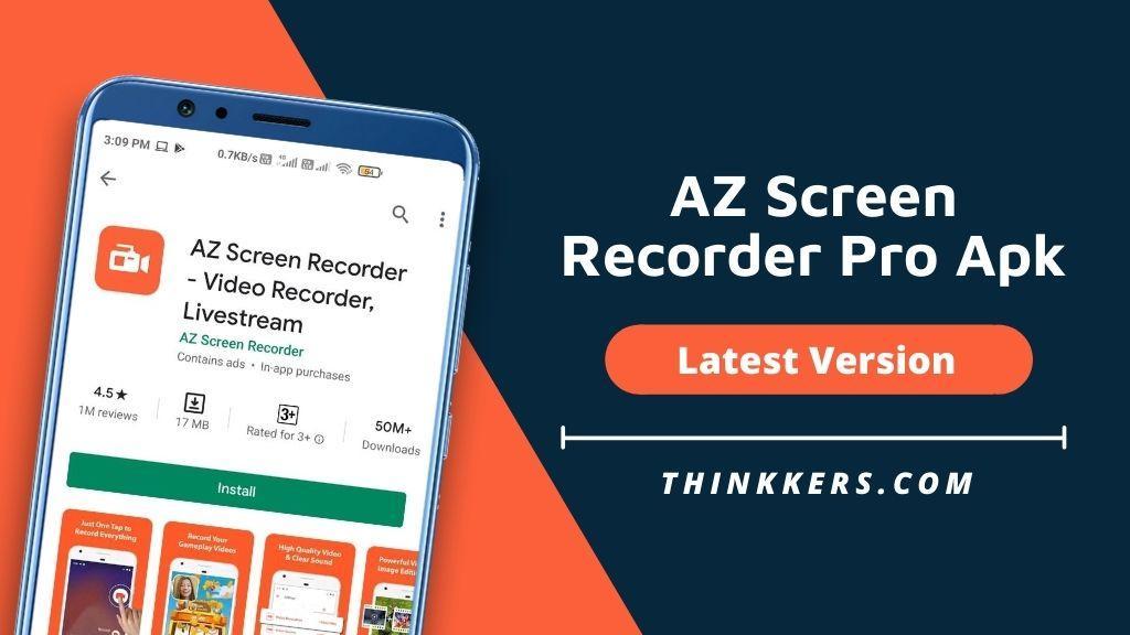 AZ screen recorder pro apk