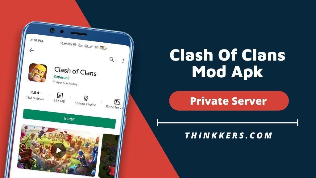 Clash Of Clans Mod Apk - Copy