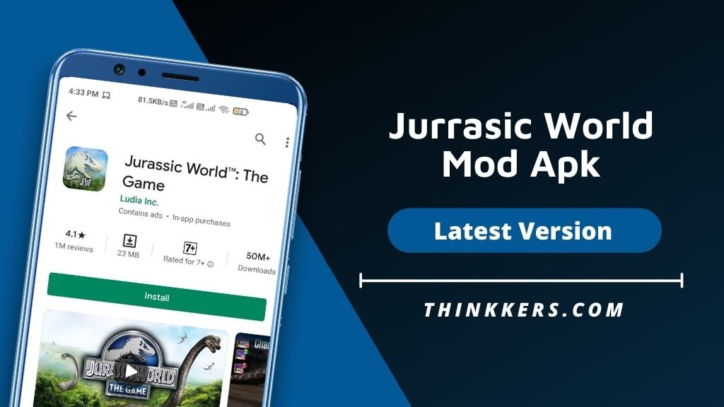 Jurrasic World Mod Apk - Copy