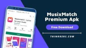 MusixMatch premium apk