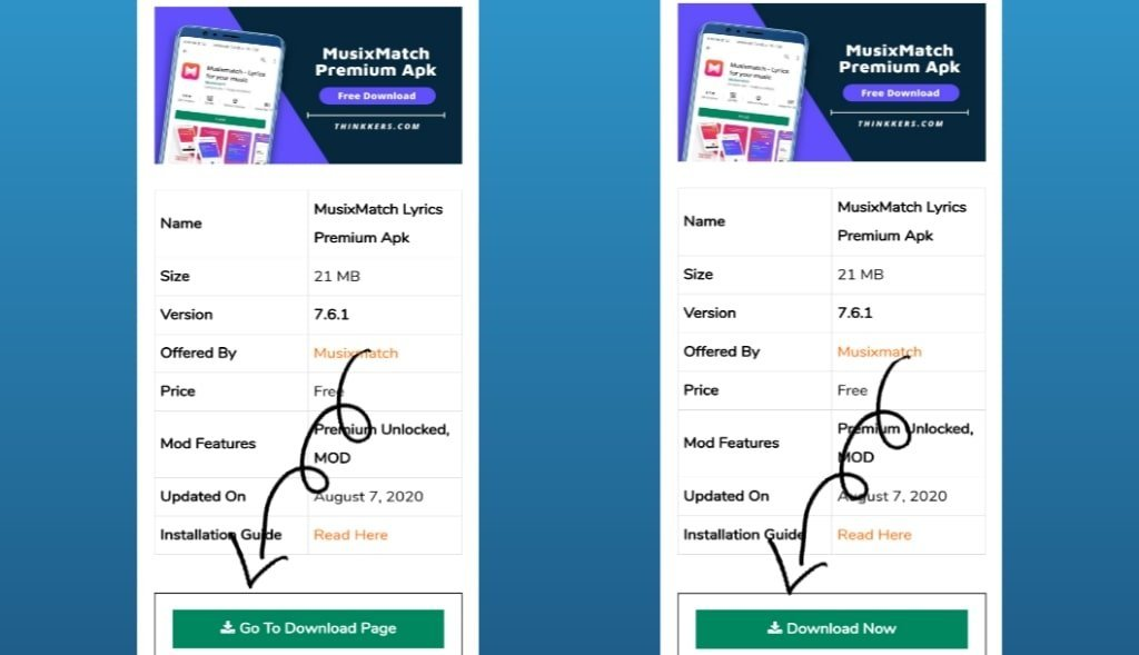 MusixMatch Premium Apk Download