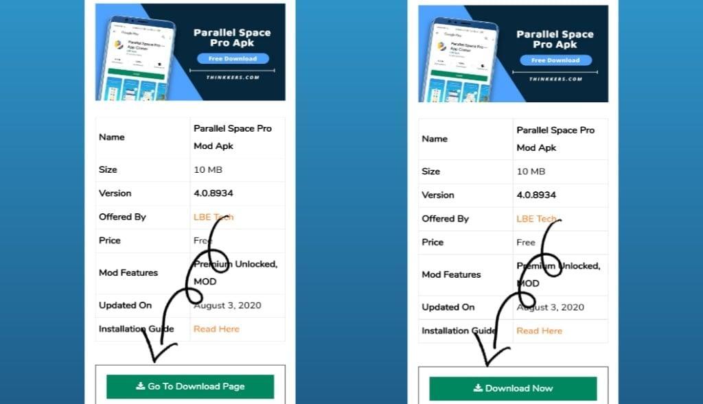 Parallel Space Premium Apk