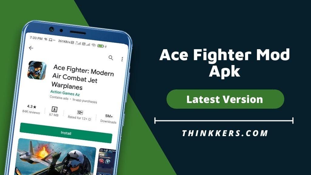 Ace Fighter Mod Apk v2.61 (Unlimited Money)