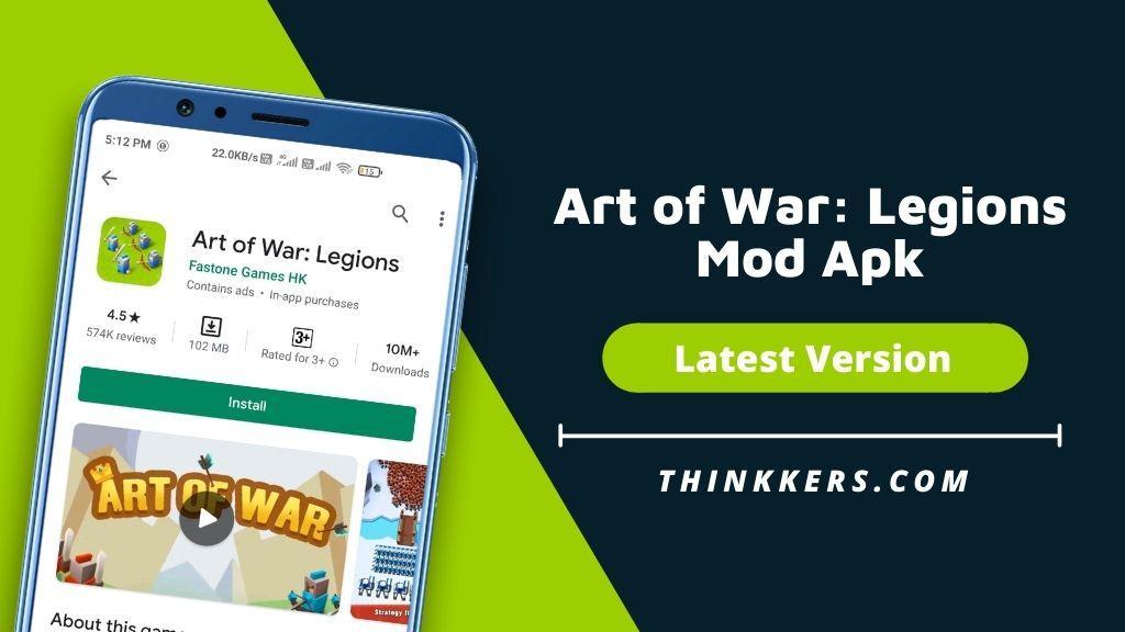 Art of War Legions Mod Apk - Copy