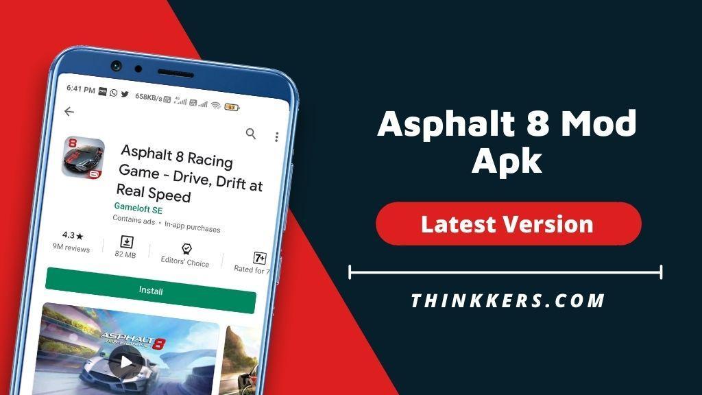 Asphalt 8 Mod Apk - Copy