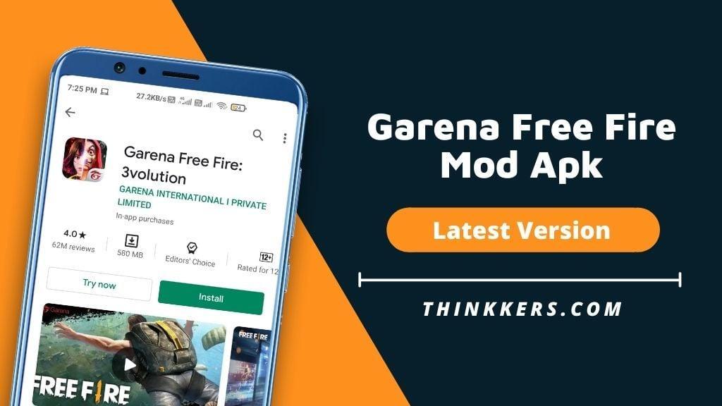 Garena Free Fire Mod Apk V1 58 0 January 2021 Unlimited Diamonds