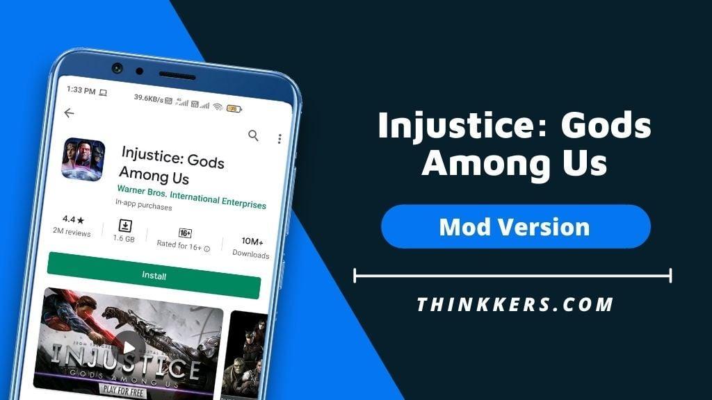 Gods of Injustice Among Us Mod Apk