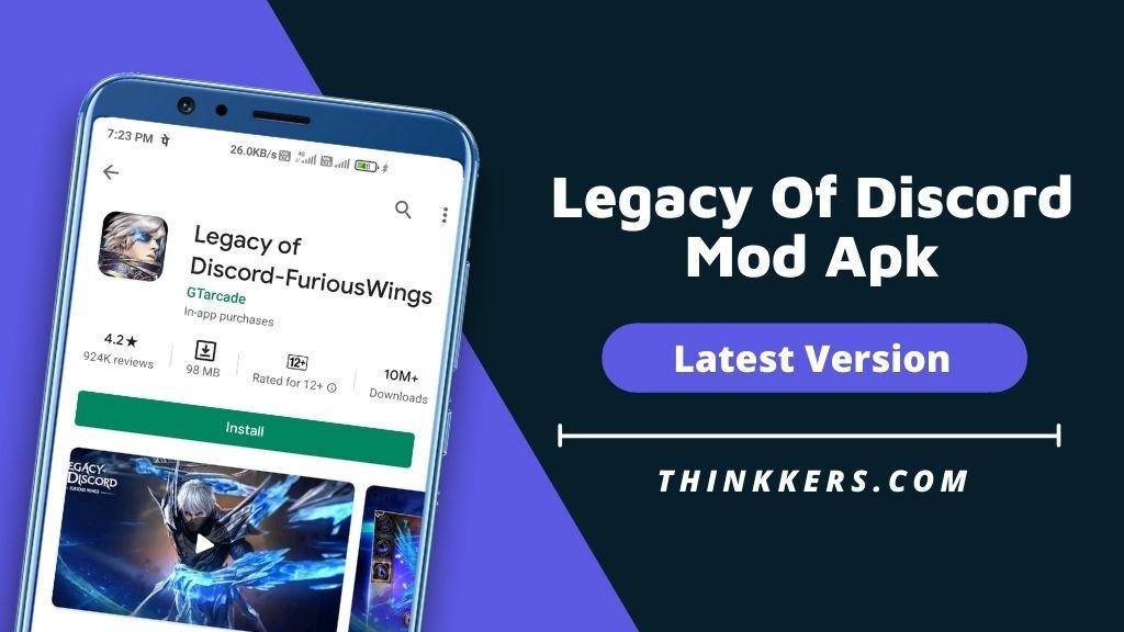 Legacy Of Discord Mod Apk - Copy