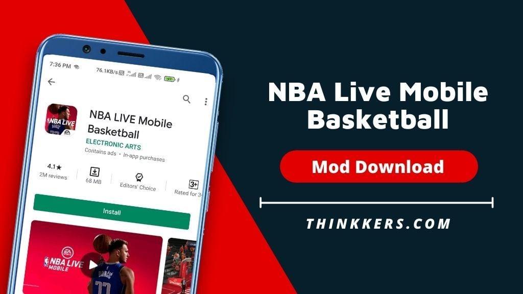 NBA Live Mobile Basketball mod apk - Copy