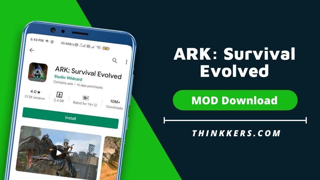 ARK Survival Evolved Mod Apk - Copy