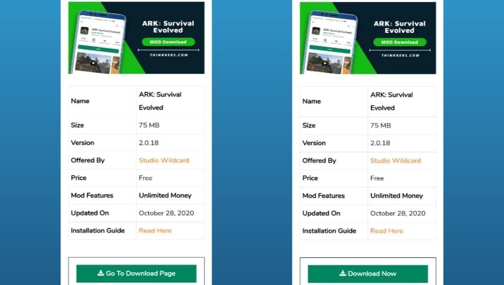 Download ARK Survival Evolved Mod Apk