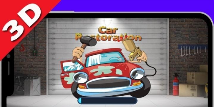 Car Restoration 3D Mod Apk v2.1 (Unlimited Money)