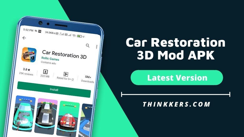 Car Restoration 3D Mod APK - Copy