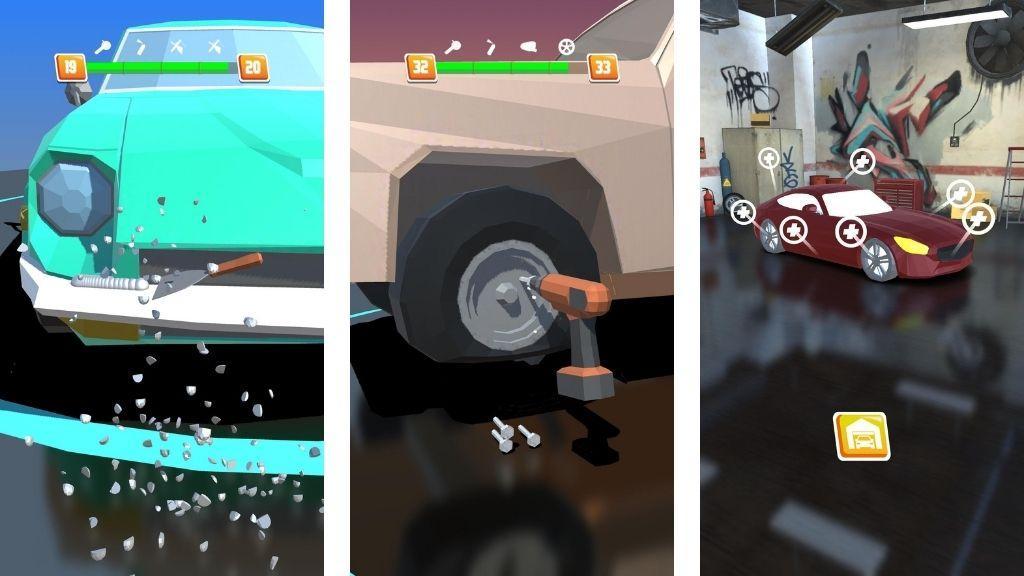 Car Restoration 3D Mod APK Download