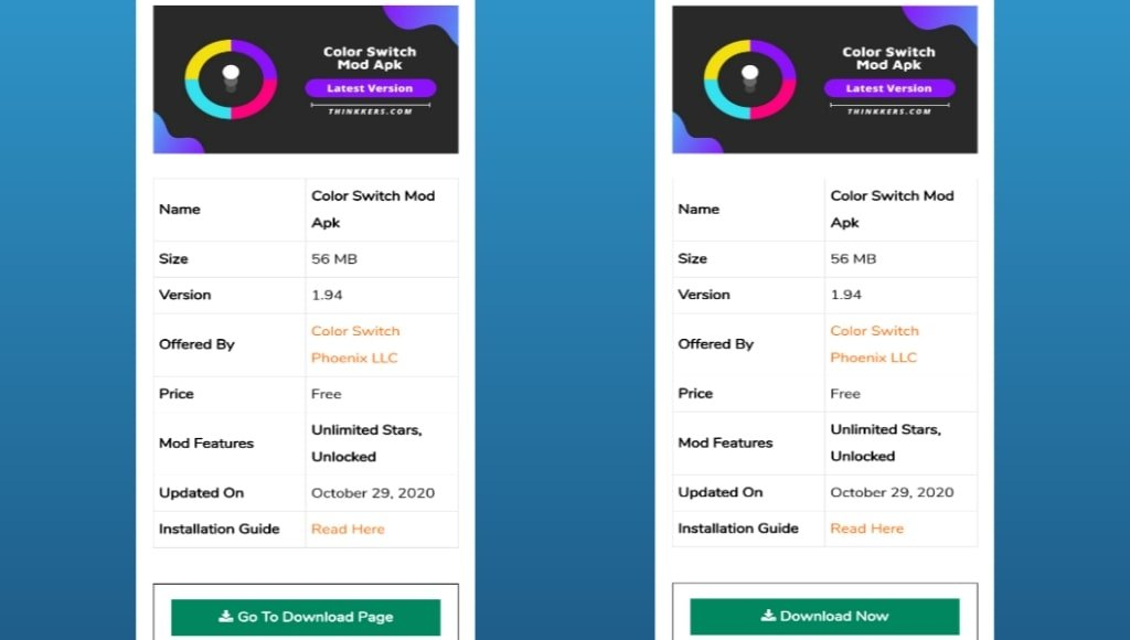 Color Switch Mod Apk Download