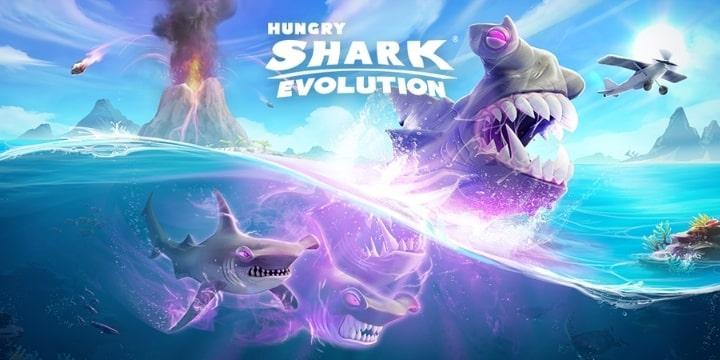 Hungry Shark Evolution Mod Apk v8.7.0 (Unlimited Coins)