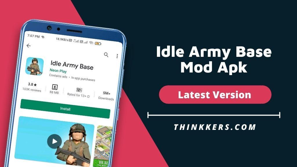Idle Army Base Mod Apk v1.24.1 (Free Shopping)