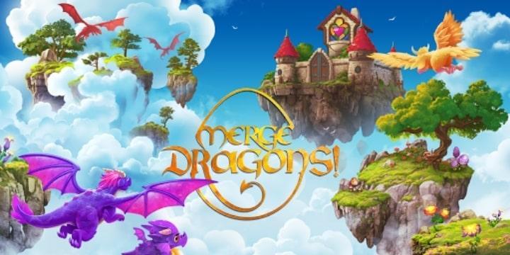 Merge Dragons! Mod Apk v7.2.0 (Free Shopping)