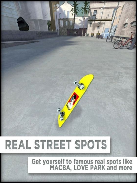 Real street places