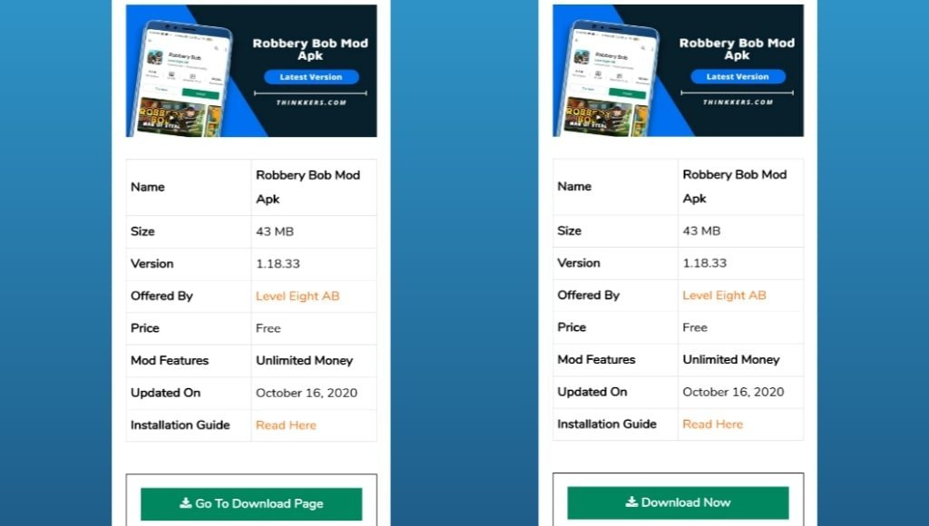 Robbery Bob Mod Apk Download