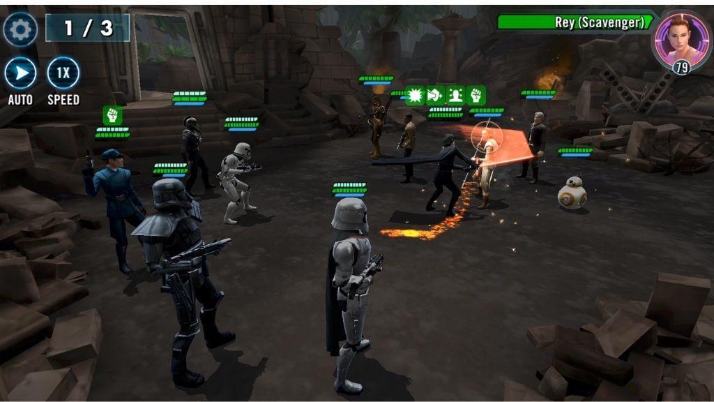 Star Wars Galaxy of Heroes 2