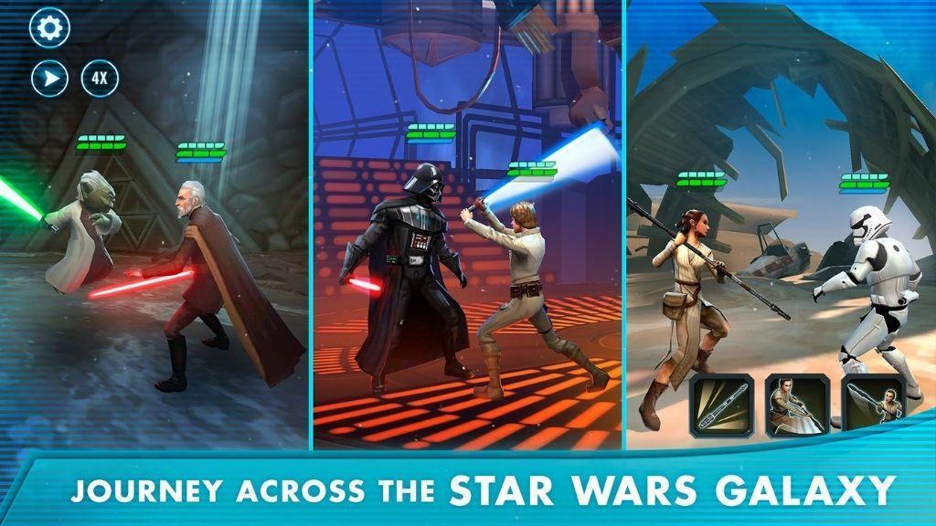 Star Wars Galaxy of Heroes 3