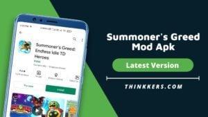 Summoner's Greed Mod Apk