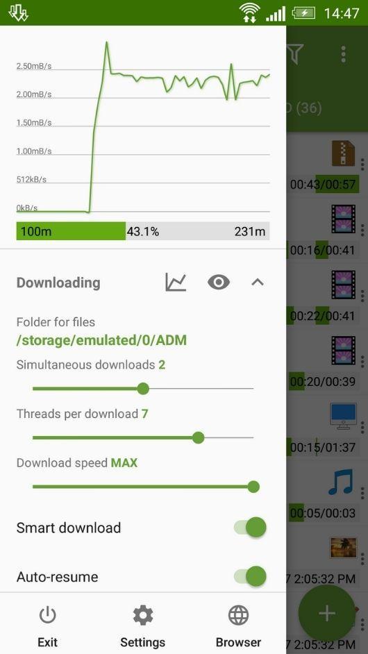Advanced Download Manager premium unlocked