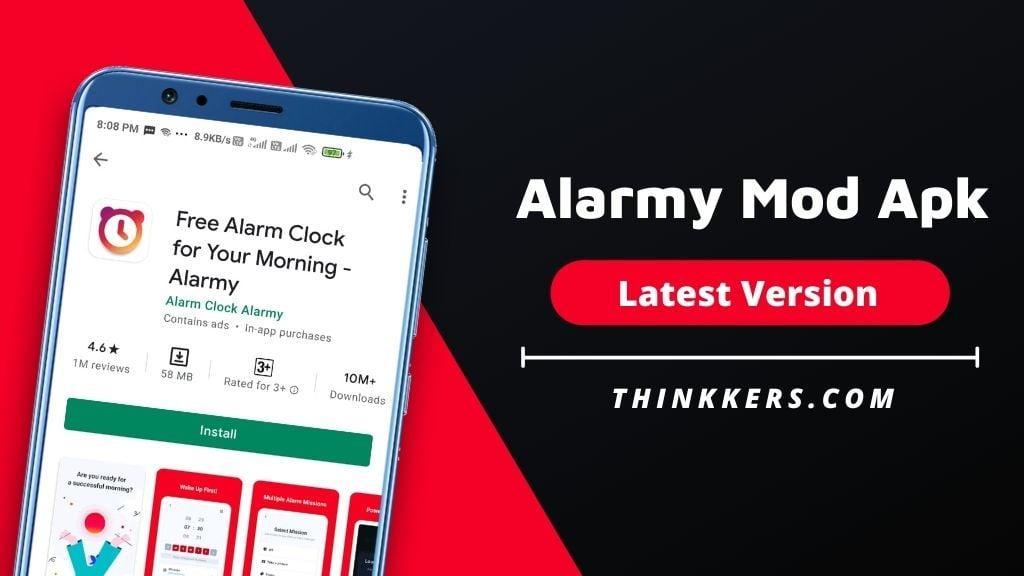 Alarmy Mod Apk