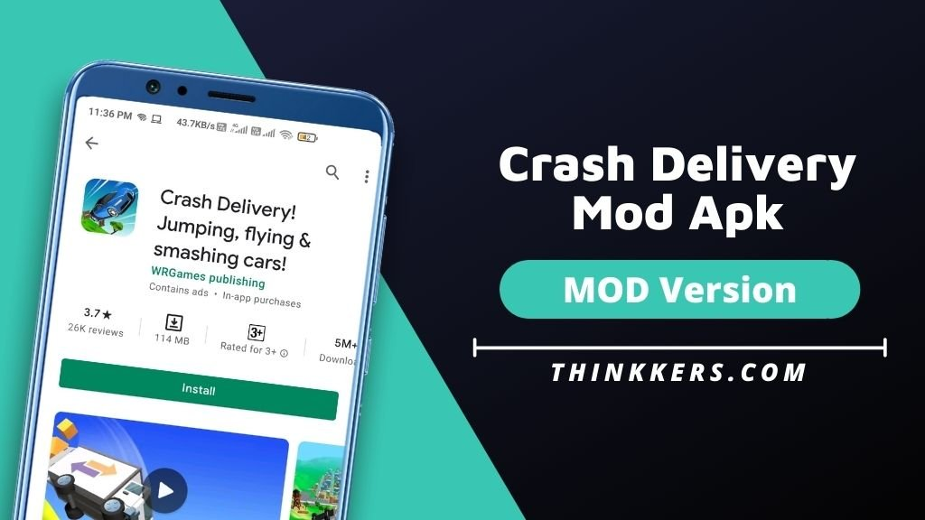 Crash Delivery Mod Apk v1.5.53 (Unlimited Money)