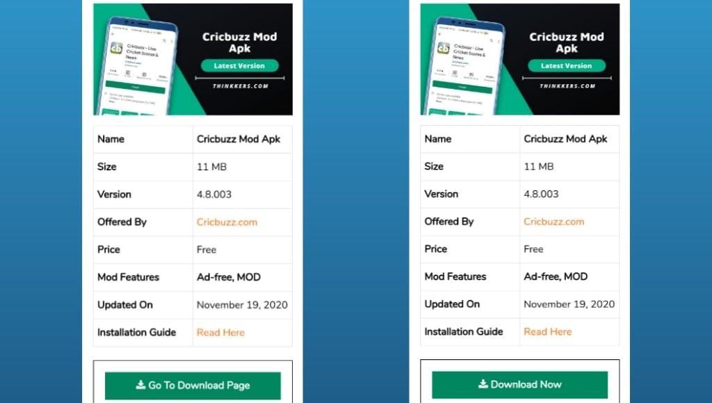 Cricbuzz Mod Apk Download