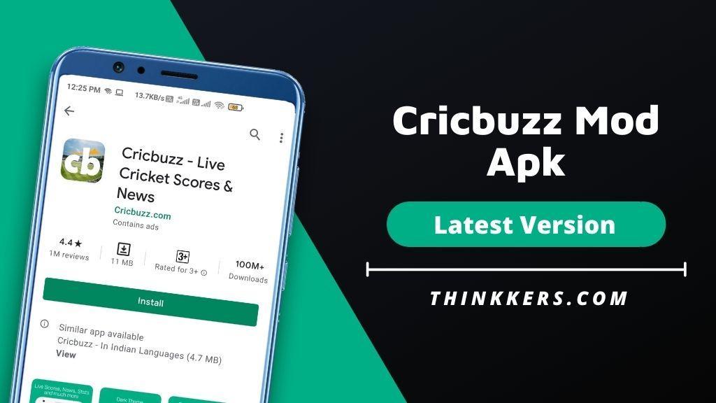 Cricbuzz Mod Apk