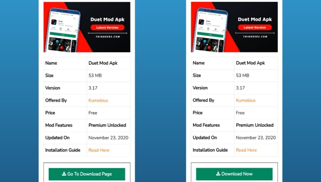 Duet Mod Apk Download