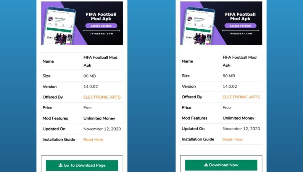 FIFA Football Mod Apk Download