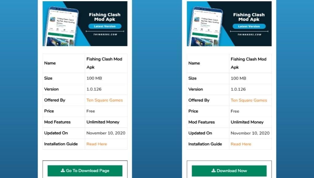 Fishing Clash Mod Apk Download