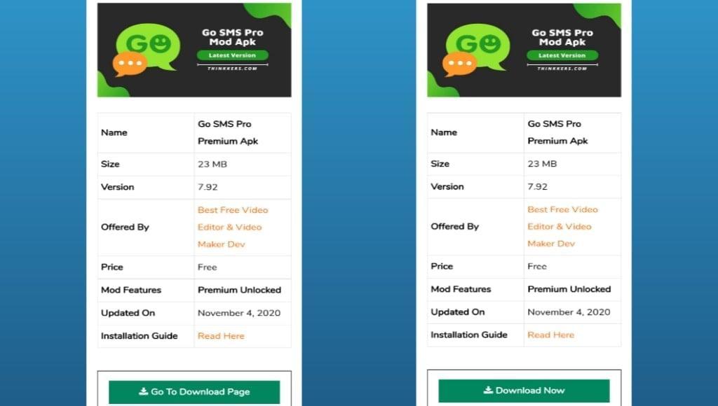 Go SMS Pro Mod Apk Download