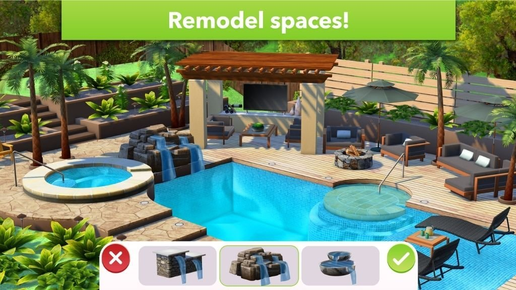 Remodeling spaces