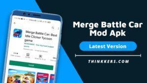 Merge Battle Car Mod Apk