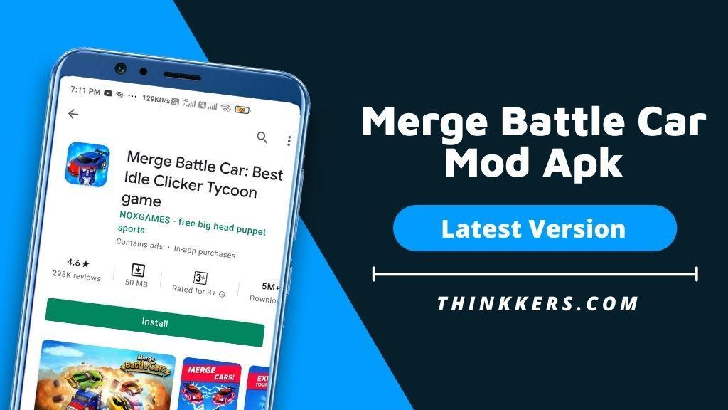 Merge Battle Car Mod Apk - Copy