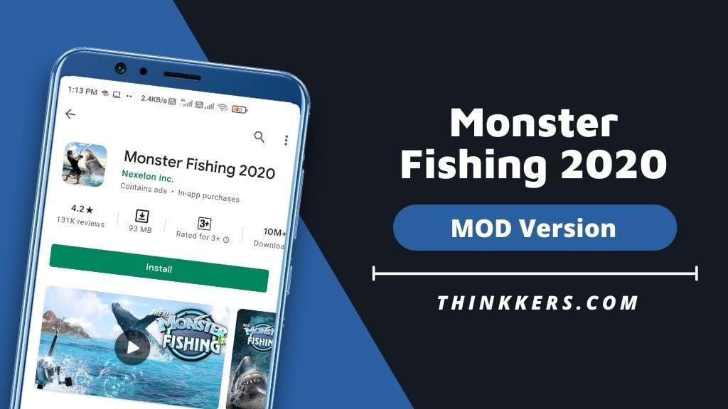 Monster Fishing 2020 Mod Apk - Copy